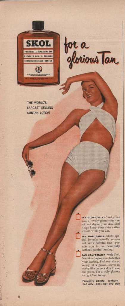 Skot for a Glorious Tan (1950)