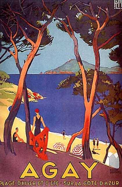 Agay by Roger Broders (1930)
