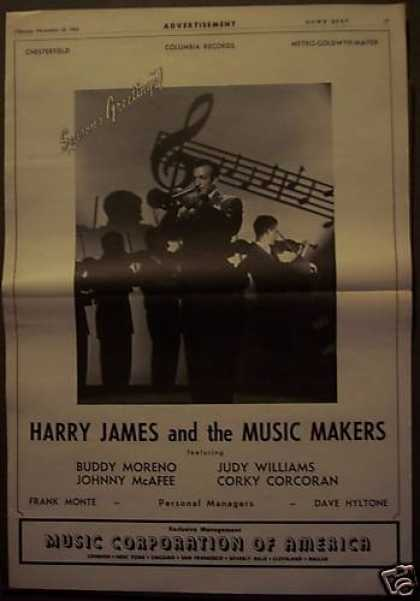 Original Harry James & His Music Makers (1943)