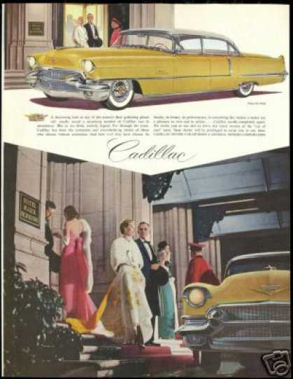Hotel Mark Hopkins Gold White Cadillac (1956)