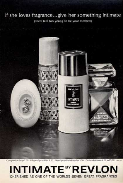 Revlon Intimate Fragrances Bottle (1964)