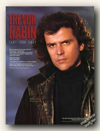 Trevor Rabin Picture Can't Look Away Album (1989)