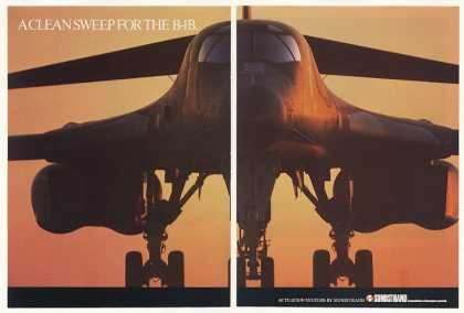 B-1B Aircraft Sundstrand Actuation Systems (1987)