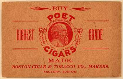 Boston Cigar and Tobacco Co.'s Poet Cigars – Poet Cigars