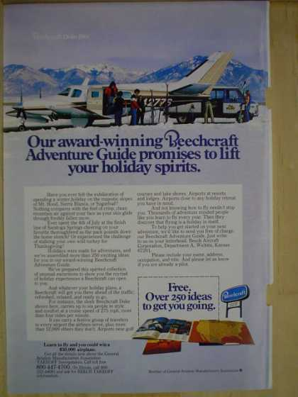 Beechcraft Lift your holiday spirits (1977)