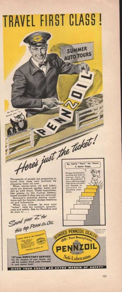 Pennzoil Safe Lubricatio (1941)