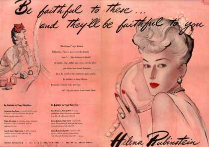 Helena Rubinstein's Various – Be faithful to these... and they'll be faithful to you (1943)