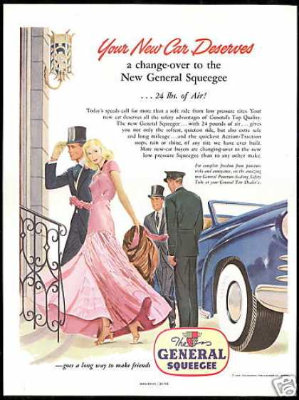 General Squeegee Tire Elegant Couple (1948)