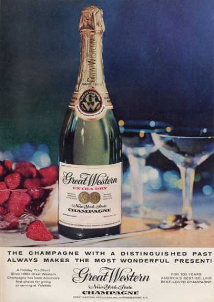 Great Western New York Champagne Bottle (1959)