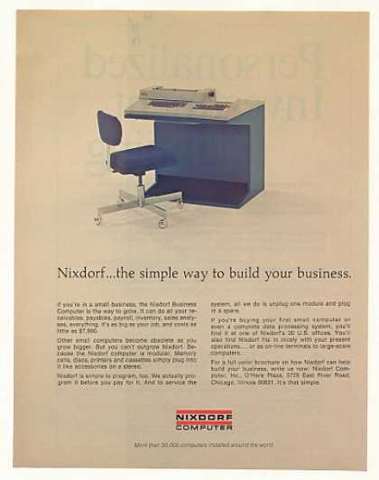 Nixdorf Business Computer Photo (1973)