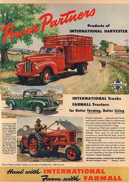 International's Farmall Tractor (1946)