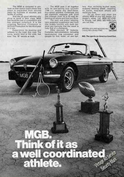 "Mgb Photo ""Well Coordinated Athlete"" (1974)"
