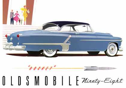 Oldsmobile 98 Holiday Coupe (1952)