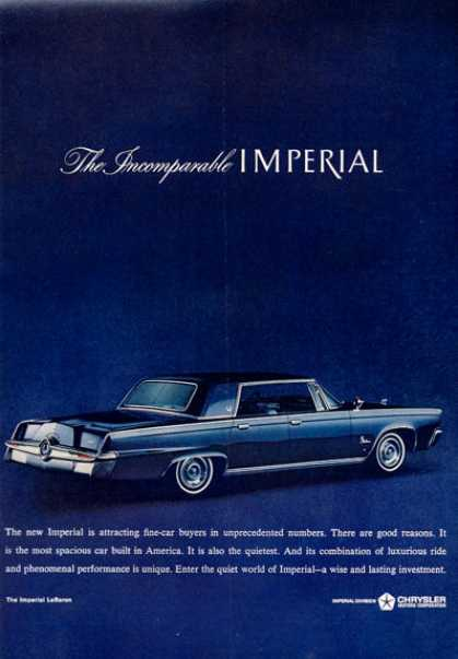 Chrysler Imperial Blue (1964)