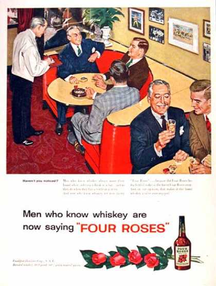 Four Roses Whiskey #1 (1954)