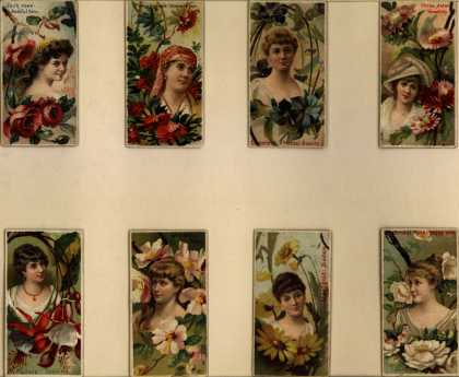W. Duke Sons & Co.'s Duke's Cigarettes – Floral Beauties – Image 2