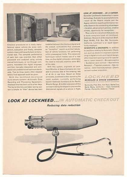 Lockheed AUTO-DRAPE Computer Space Vehicle Test (1963)