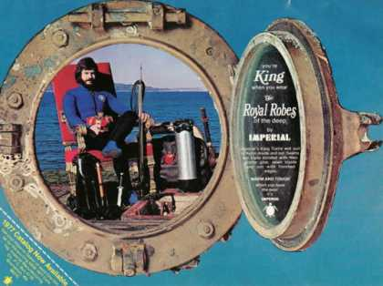 Imperial Royal Robes Scuba Diver Wet Suit (1977)