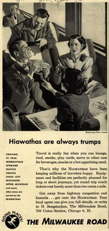 Milwaukee Road's Hiawathas – Hiawathas are always trumps (1951)