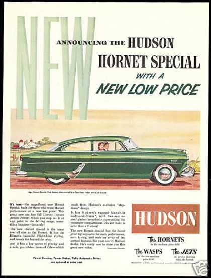 Great Hudson Hornet Special Club Sedan Car (1954)