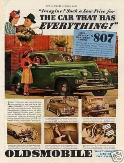 Oldsmobile Sixty Deluxe Business Coupe (1940)