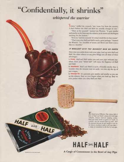 Half and Half Pipe Tobacco (1941)
