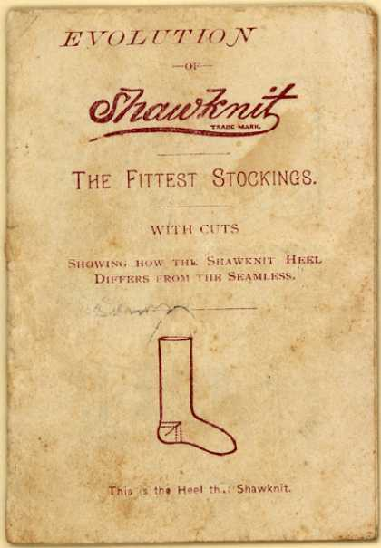 Shawknit's socks and stockings – Evolution of Shawknit, the Fittest Stockings