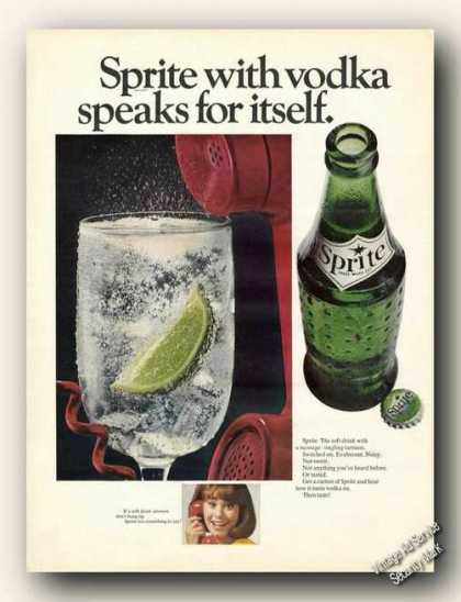Sprite With Vodka Speaks for Itself (1967)