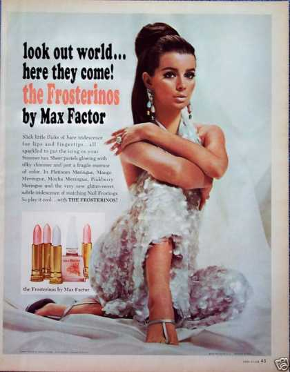 Max Factor Make Up Dinner Pajamas Donald Brooks (1966)