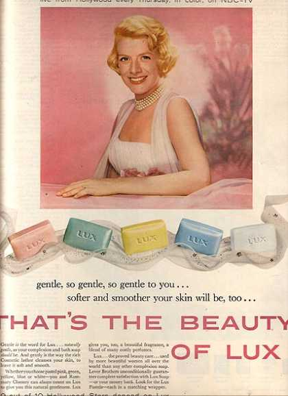 Lux Soap – Rosemary Clooney (1958)