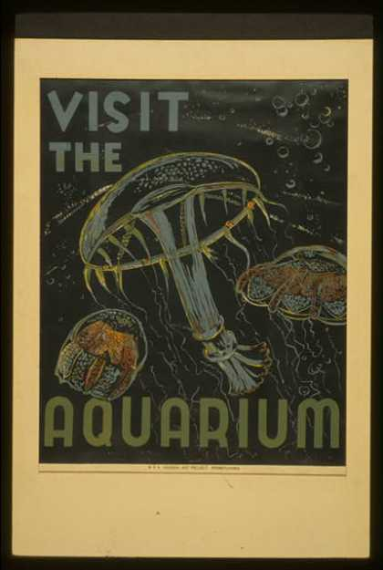 Visit the aquarium. (1936)