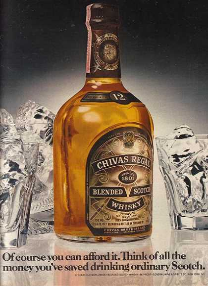 Chivas Regal's Blended Scotch Whiskey (1979)