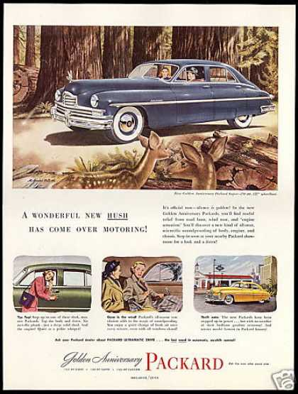 Packard Golden Anniversary Super Brindle Art (1949)
