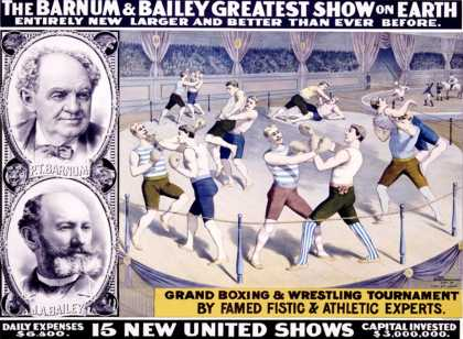 Barnum and Bailey, Grand Boxing and Wrestling Tournament