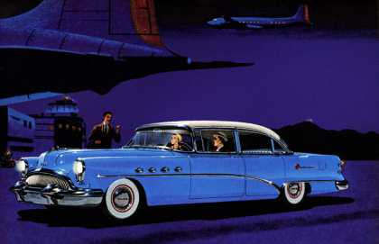 More than the grace of greatness Buick Roadmaster (1954)