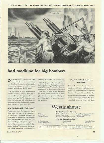 Bad Medicine for Big Bombers Westinghou (1942)