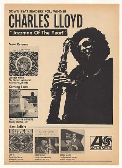 Charles Lloyd Atlantic Records (1967)