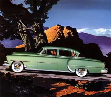 Chrysler New Yorker Deluxe Larry 			Baranovic (1954)