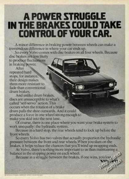 "Volvo ""Brakes Could Take Control of Your Car"" (1974)"
