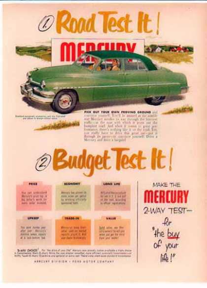 Mercury Car – Road Test It! Budget Test It (1948)