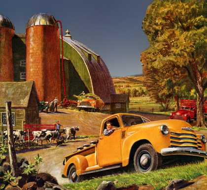 Chevrolet Trucks Peter Helck (1950)