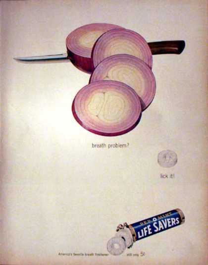 Life Savers Pep O Mint (1962)