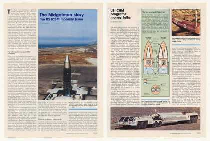 Midgetman US ICBM Missile Mobility Photo Article (1989)