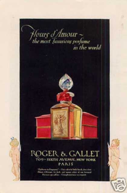 Roger & Gallet Perfume Color (1926)