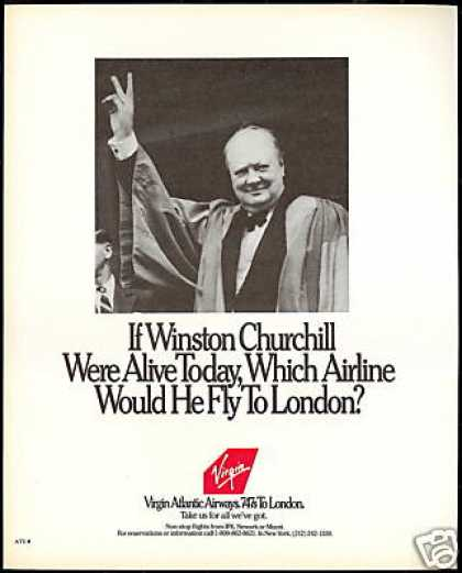 Virgin Atlantic Airways Winston Churchill (1989)