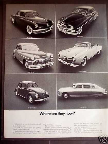 Volkswagen Compared To Other Cars (1970)