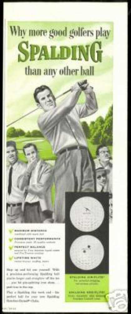 Spalding Golf Ball Air Flite Kro-Flite Vintage (1954)