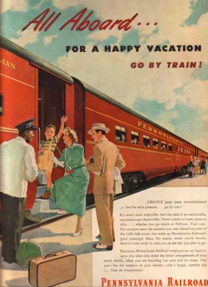 Pennsylvania Railroad's Pullman Car (1949)