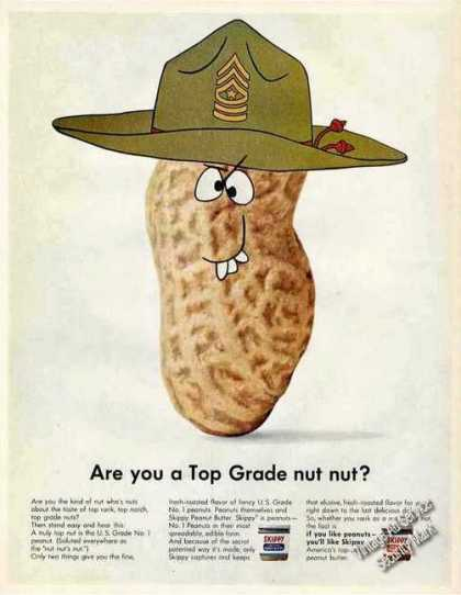 "Skippy Peanut Butter ""Are You a Top Grade Nut?"" (1967)"