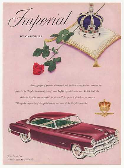 Chrysler Imperial Crown Rose (1952)